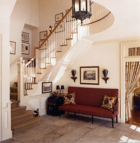 Traditional interior design portfolio rotator holder for Design traditional